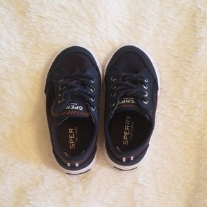 Velcro Top sider sperry shoes